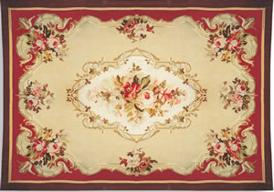 Tapis d'Aubusson Robert Four - Bagatelle