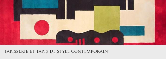 Tapisserie et tapis de style contemporain