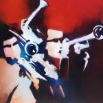 Tapisserie - Boite Jazz - Alain Maupuy
