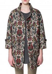 Manteau tapisserie Zara